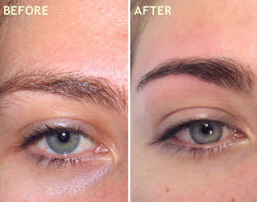 EYE LASH AND EYE BROW TINTING